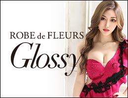 ROBE de FLEURS Glossy ローブドフルールグロッシーのキャバドレス