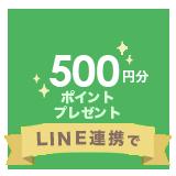 新規LINEID連携で500ポイント付与
