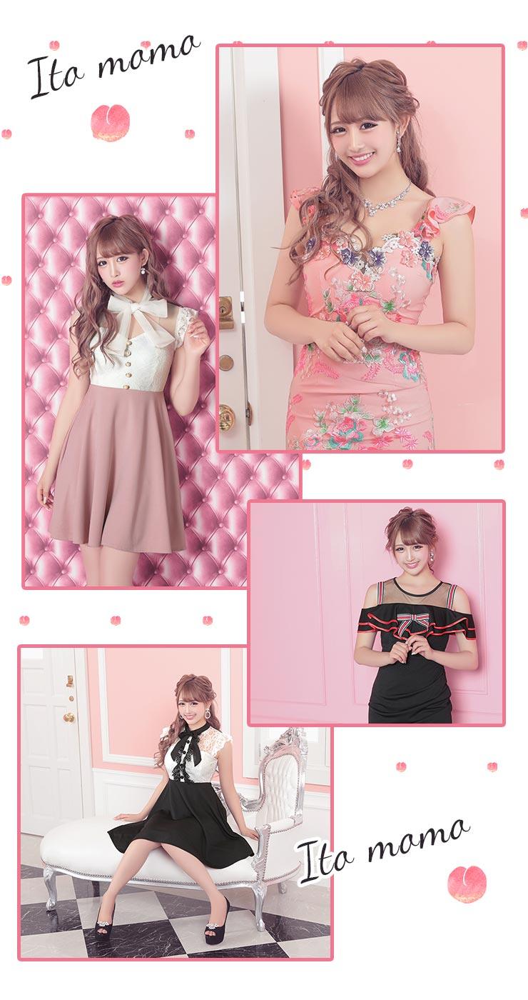 画像1 桃々ちゃん着用ドレス