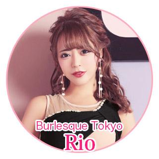 Burlesque Tokyo rio Tikaドレス着用
