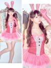 イメージ画像7 バニーガール コスプレ衣装 コスチューム 面白い 仮装 バニーガールコスチュームセット