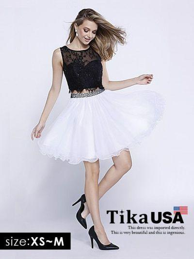 c539374bf3013 Tika USA L.Aインポートドレス パールデザインベアマーメイドロング ...