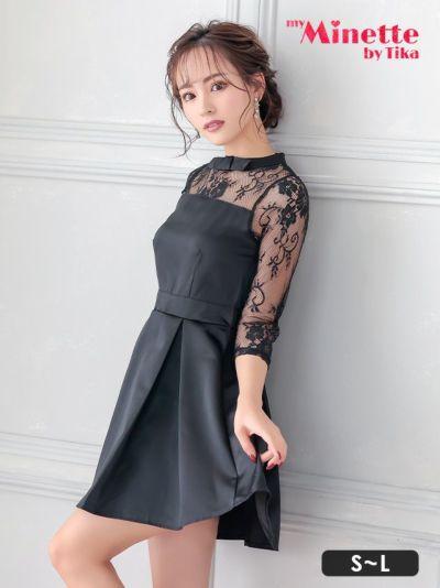 人気モデルが着る新作プチプラキャバドレス