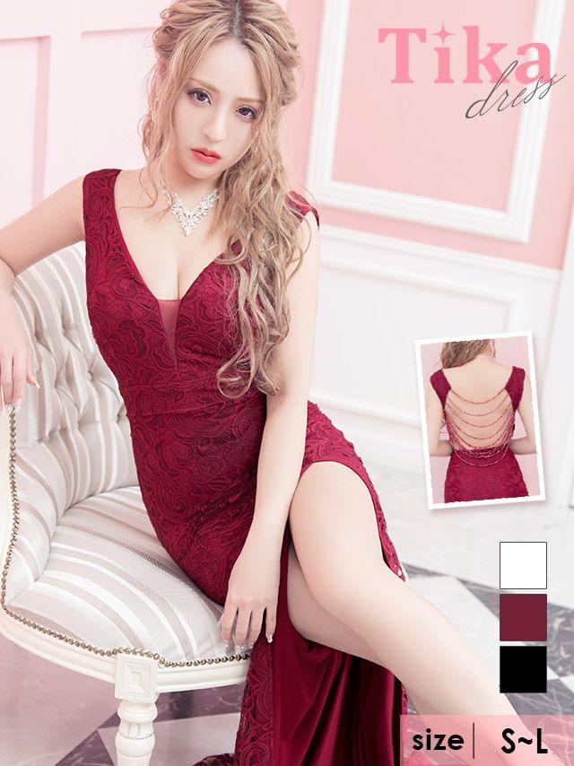 Tikaで今二番目に売れているロングドレス