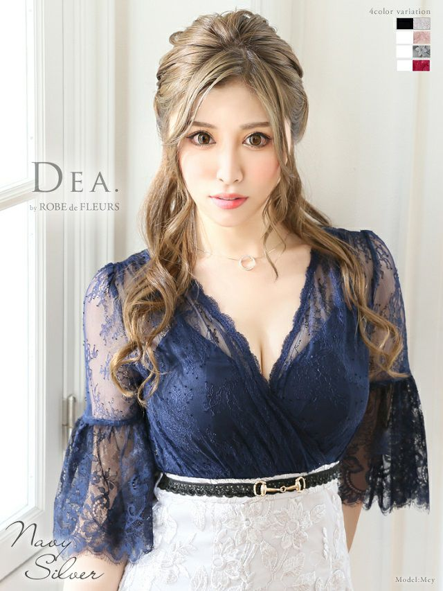 藤咲めいが着るディアのミニドレス