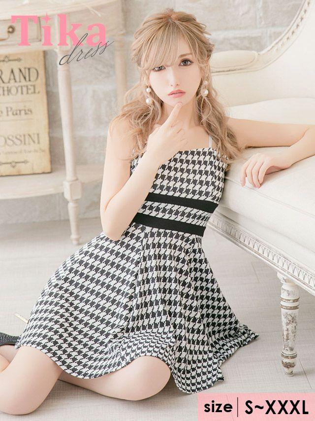 Tikaで今二番目に売れている大きいサイズのキャバドレス
