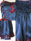 イメージ画像8 コスプレ衣装 Tika ティカ  2点set マリンドット水兵ガールコスチュームセット  ハロウィン コスプレ レディース 衣装 仮装 可愛い かわいい 通販