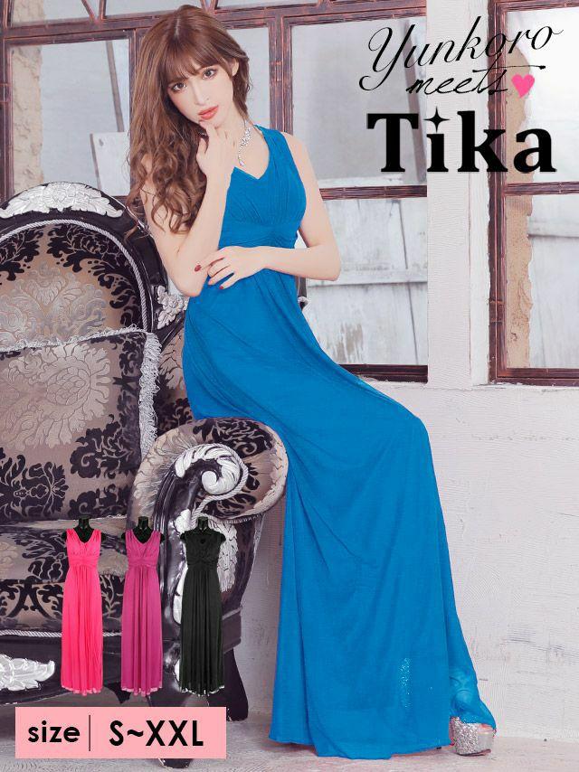 Tikaで今三番目に売れているロングドレス