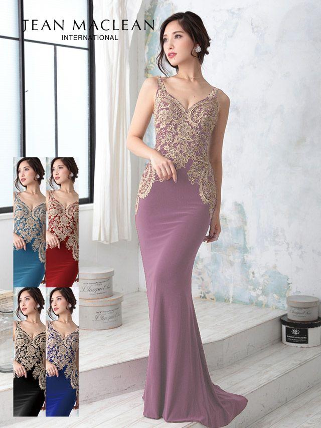 ジャンマクレーンのロングドレス