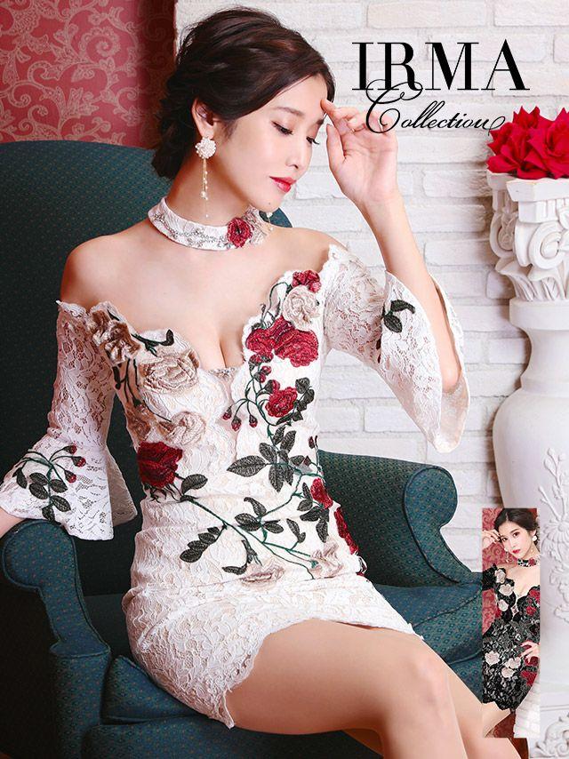 益田アンナが着るイルマのミニドレス