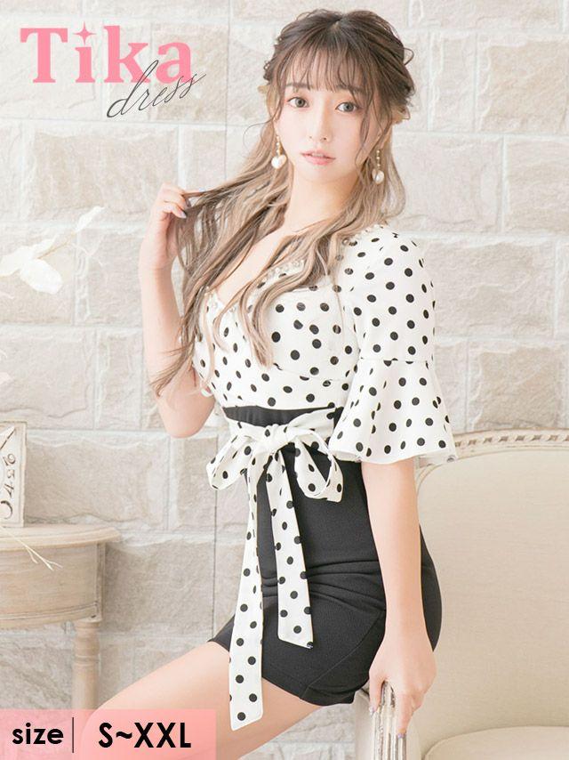 大阪の人気キャバ嬢が着る新作キャバドレス
