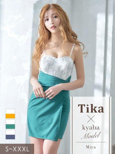 人気キャバ嬢が着る新作の大きいサイズのドレス