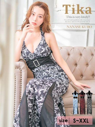 人気モデルが着る新作キャバドレス